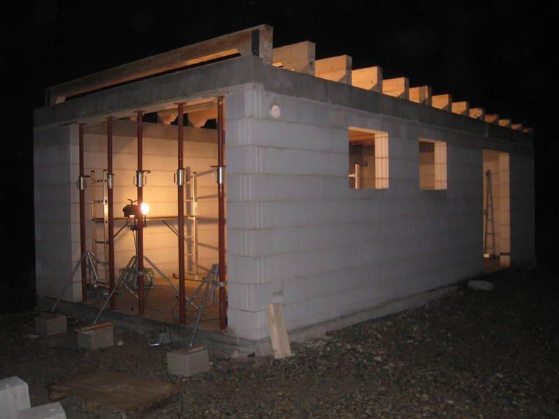 Сборный железобетонный гараж на даче своими руками
