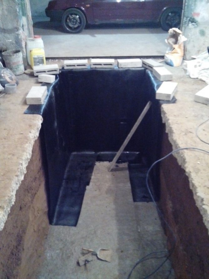 Гидроизоляция смотровой ямы в гараже своими руками: пошаговая инструкция