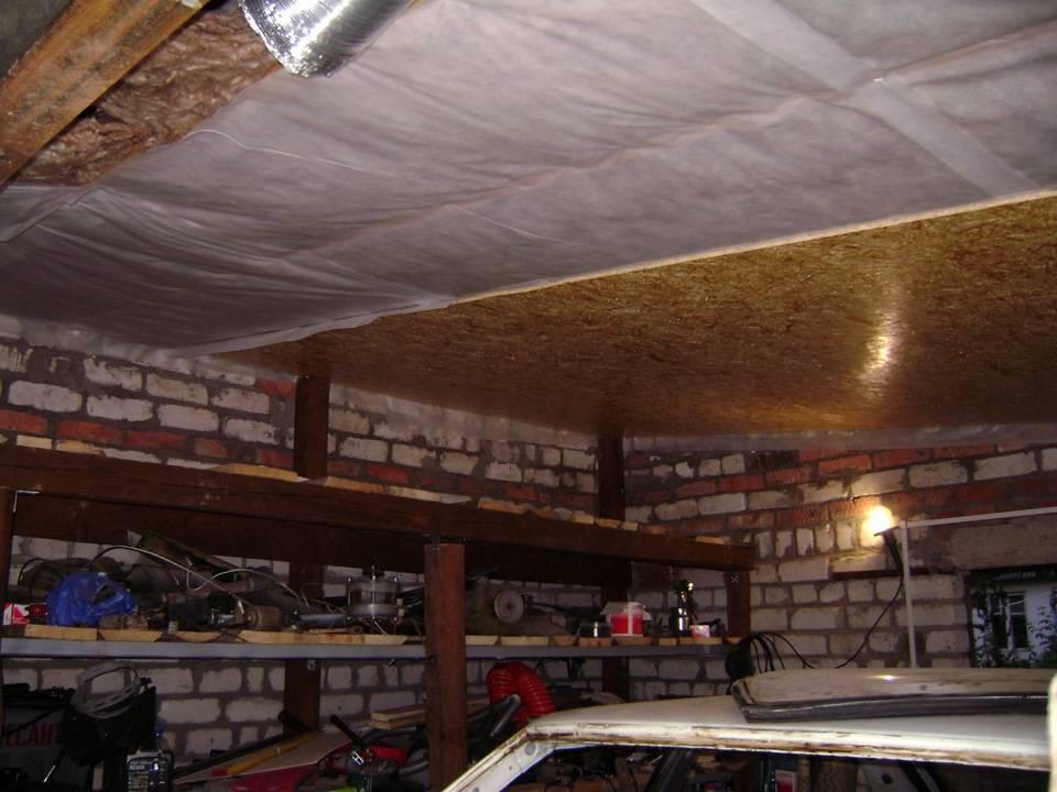 Несколько подсказок, как следует утеплять потолок в гараже