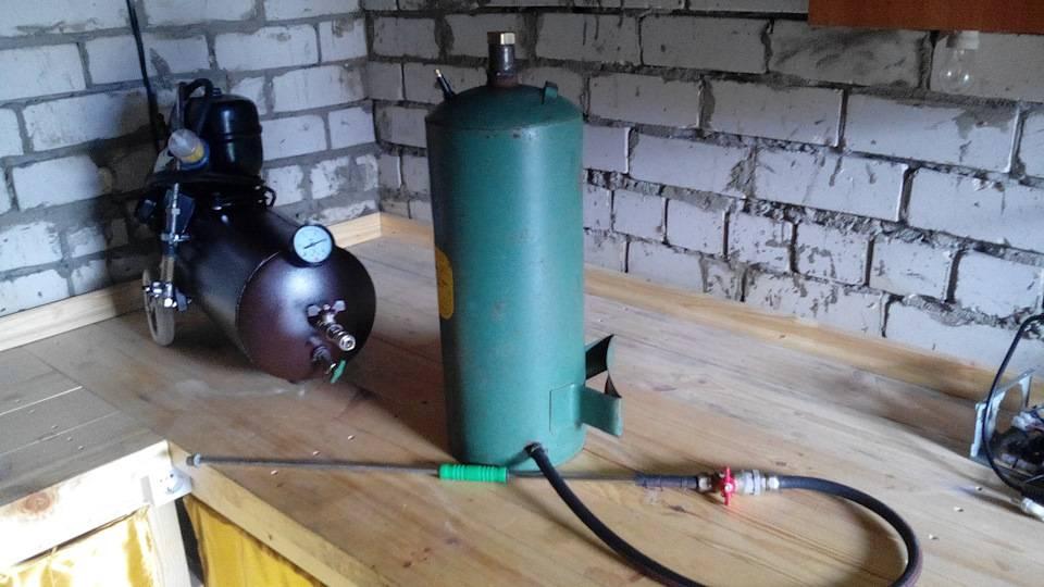 Самодельный компрессор для мастерской, как сделать самому