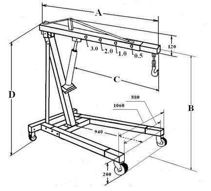 Кран гаражный гидравлический своими руками: как сделать