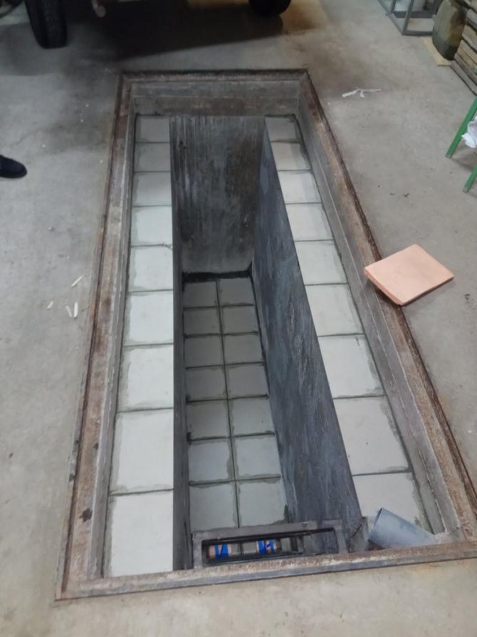 Смотровая яма в гараже своими руками - размеры, чем закрыть, видео