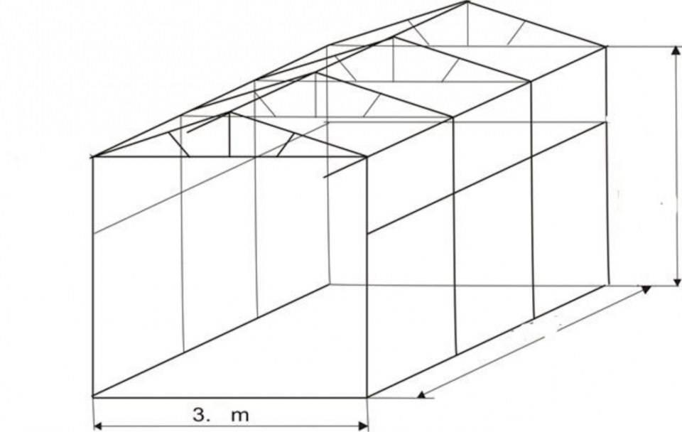 Преимущества и этапы строительства каркасного гаража из профильной трубы своими руками