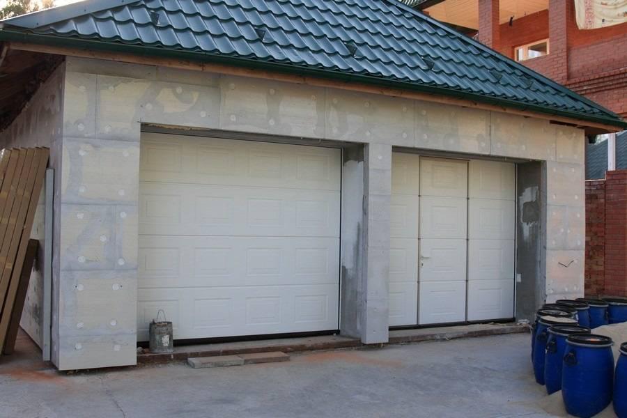 Внутренняя отделка гаража своими руками: материалы для отделки, чем лучше обшить
