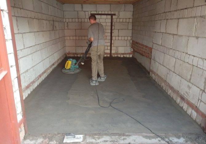 Чем покрыть бетонный пол в гараже: способы защиты бетонных поверхностей