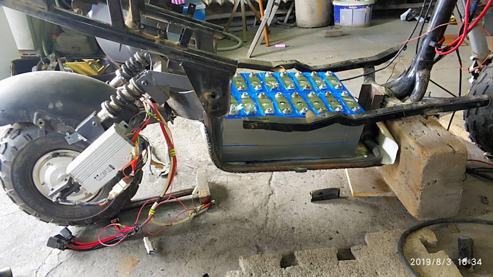 Влагозащита электросамоката своими руками — на токе