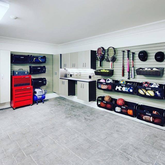 Обустройство гаража: системы хранения, мебель, дизайн | дом мечты
