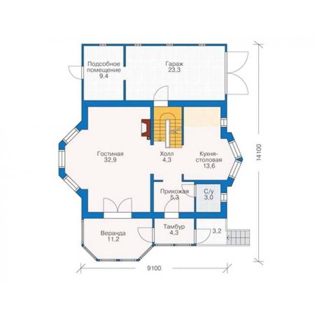 Дом с гаражом в цокольном этаже: как обустроить гараж в подвале частного дома