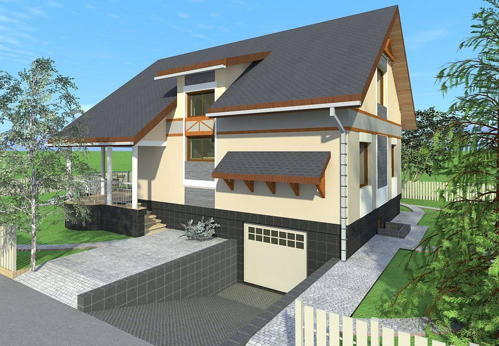 Дом с гаражом в цокольном этаже: что учесть при проектировании и строительстве