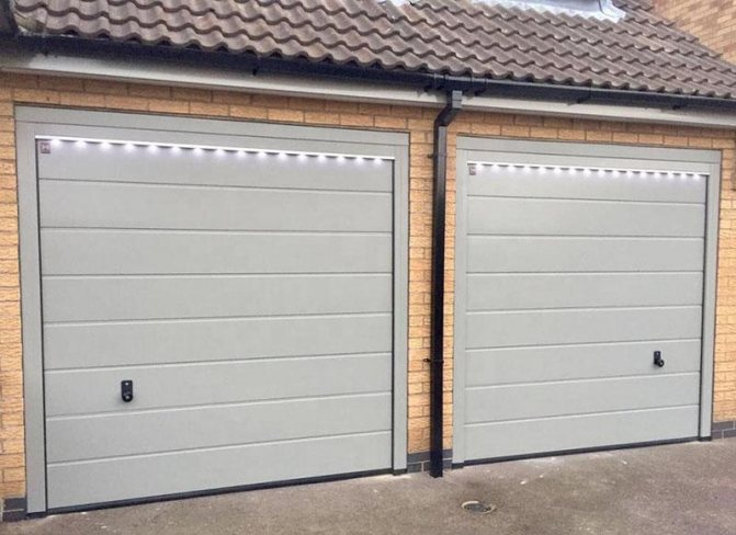 Как поднять ворота в гараже
