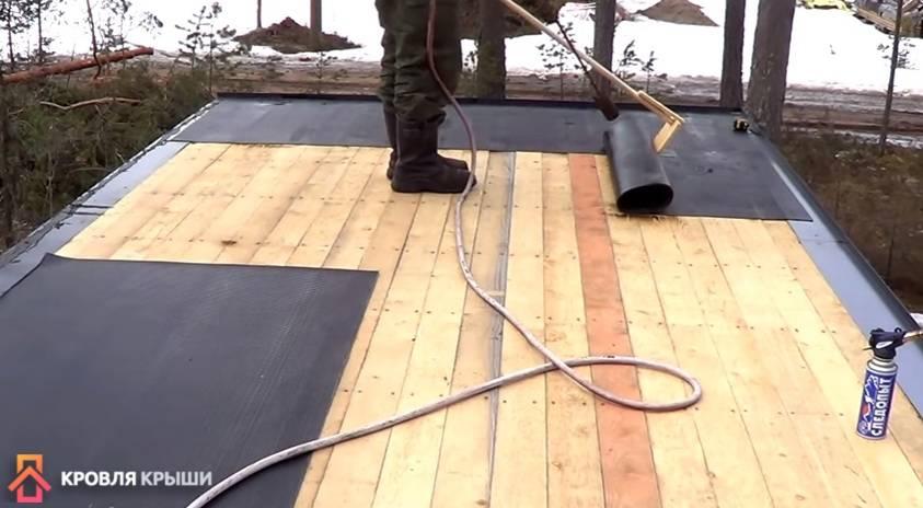 Чем перекрыть крышу гаража вместо рубероида