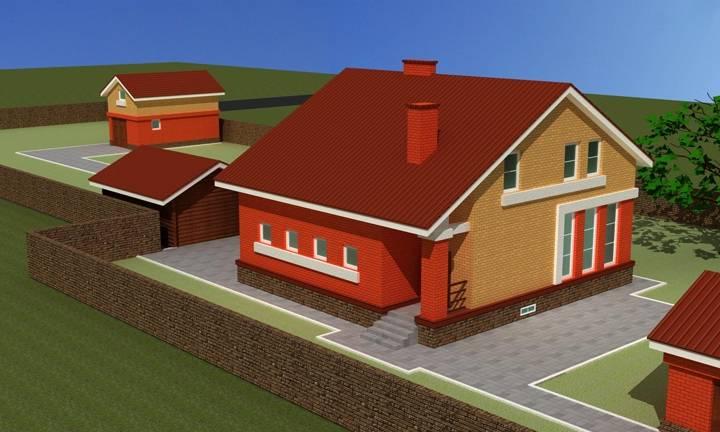 Гараж со вторым жилым этажом: проекты с комнатой, как составить проект и построить своими руками