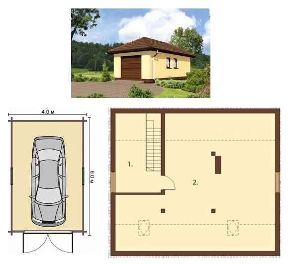 Как построить погреб + подвал в гараже своими руками: фото + видео + чертежи   погреб-подвал