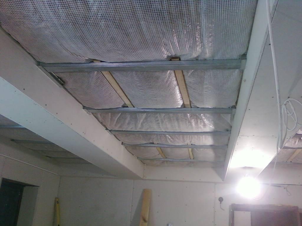 Как утеплить потолок в гараже: утепление без конденсата, примеры на фото и видео