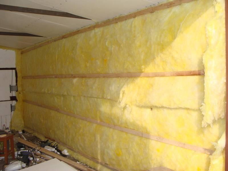 Утепление гаража: как утеплить гараж и нужно ли утеплять гараж изнутри