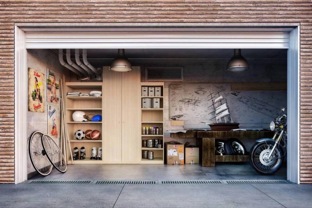Обустройство гаража: 100 фото подбора лучших вариантов оборудования