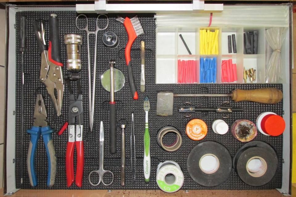 Самостоятельное обустройство и хранение инструмента в гараже