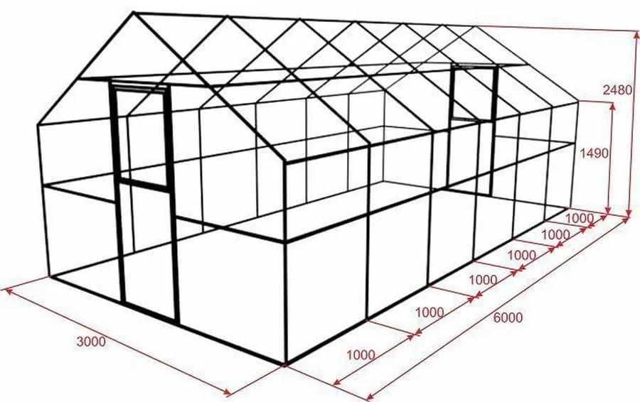 Гараж из металлопрофиля своими руками: строим дешево каркасный гараж, чертежи