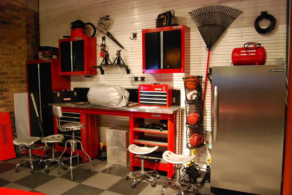 Дизайн гаража внутри частного дома | своя лента!