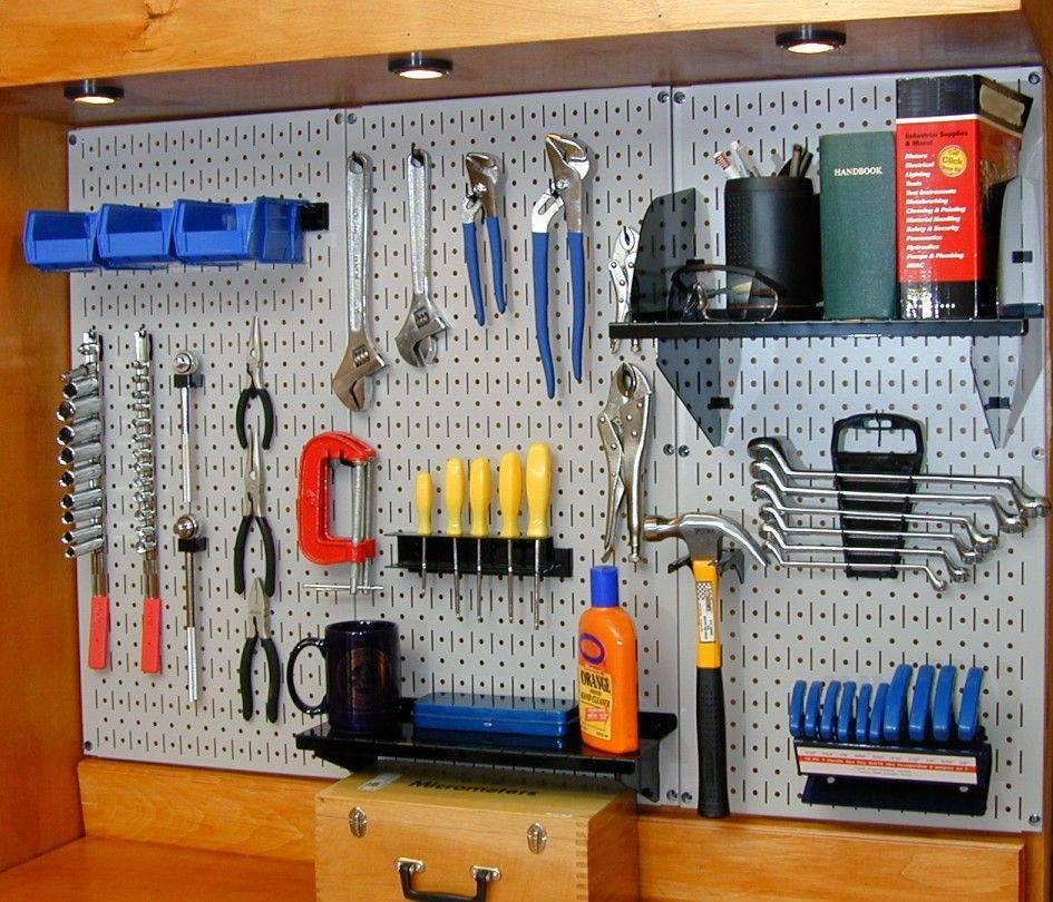 Гараж для мастера на все руки: хранение инструментов в мастерской   гаражтек