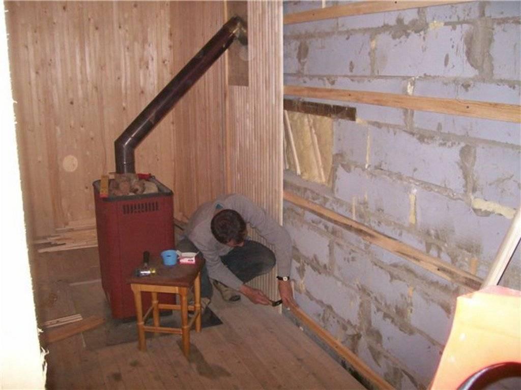 Проект бани с гаражом под одной крышей   как построить баню