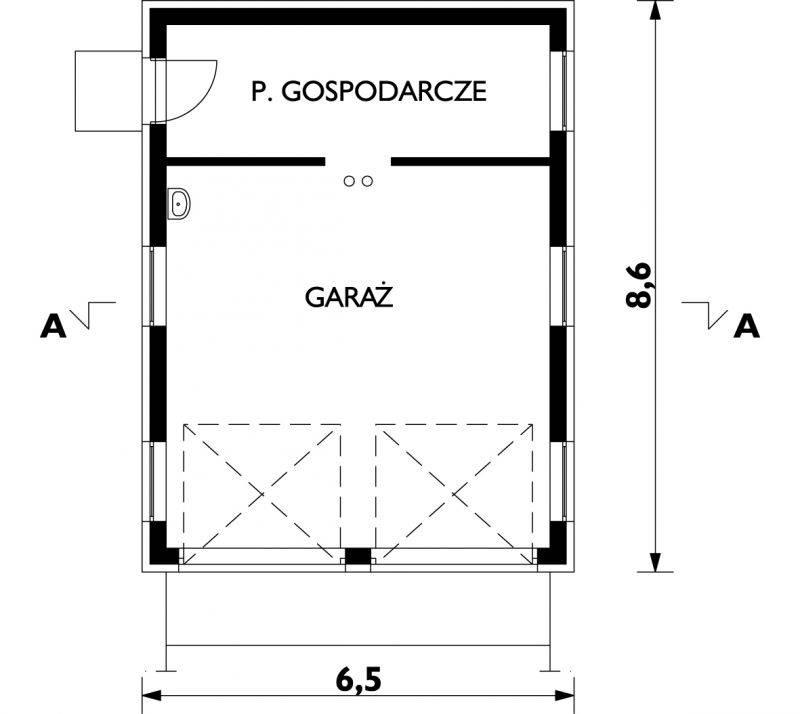 Пошаговая инструкция строительства двухэтажного гаража своими руками по проекту