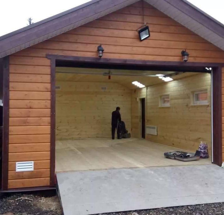 Сколько нужно денег, чтобы построить гараж из различных материалов