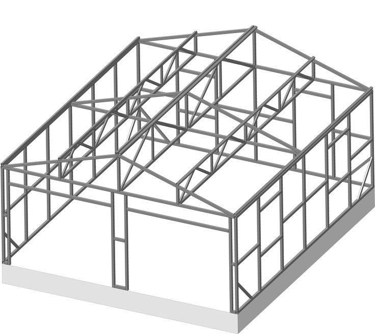 Гараж из сэндвич-панелей своими руками. строим гараж правильно :: syl.ru