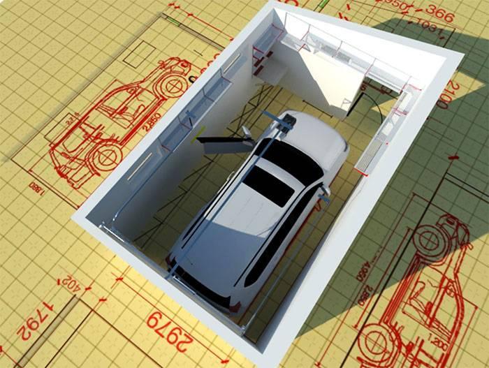 Оптимальный размер гаража на 2 машины