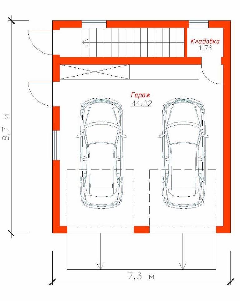 Оптимальные размеры для гаража: вся суть