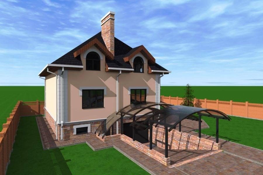 Плюсы и минусы дома с цокольным этажом и гаражом