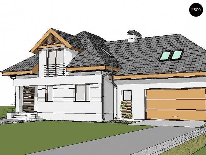Проекты домов с гаражом под одной крышей