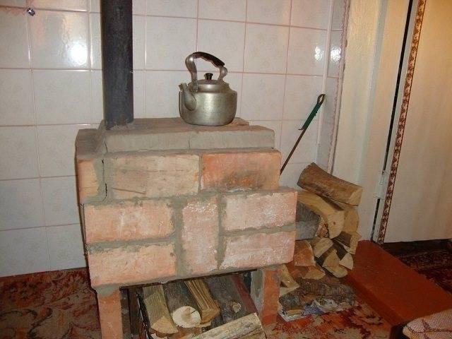 Печь для гаража (59 фото): как сделать печку своими руками, самодельные конструкции длительного горения на отработке и дровах