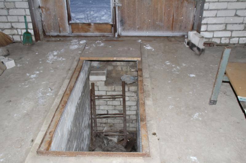 Проект двухэтажного гаража с подвалом и смотровой ямой: схемы + фото + видео | погреб-подвал