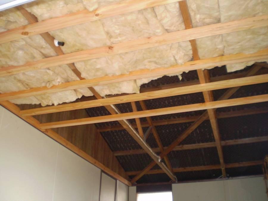 Чем дешево и красиво обшить потолок в гараже?