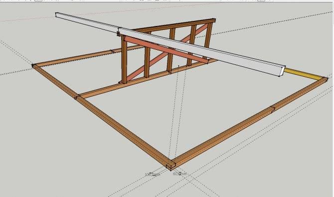 Как сделать односкатную крышу гаража - рекомендации