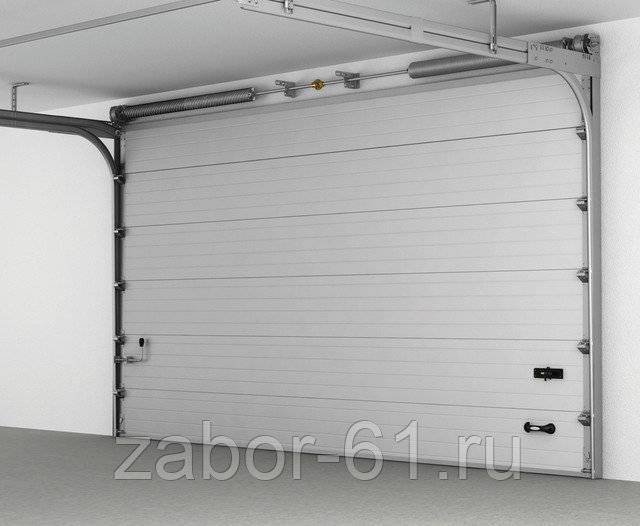 Виды гаражных ворот: рассмотрим подробно