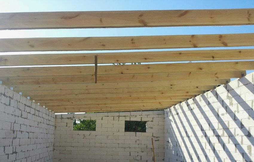 Односкатная крыша для гаража своими руками: расчёты для гаража с односкатной крышей, а также монтаж