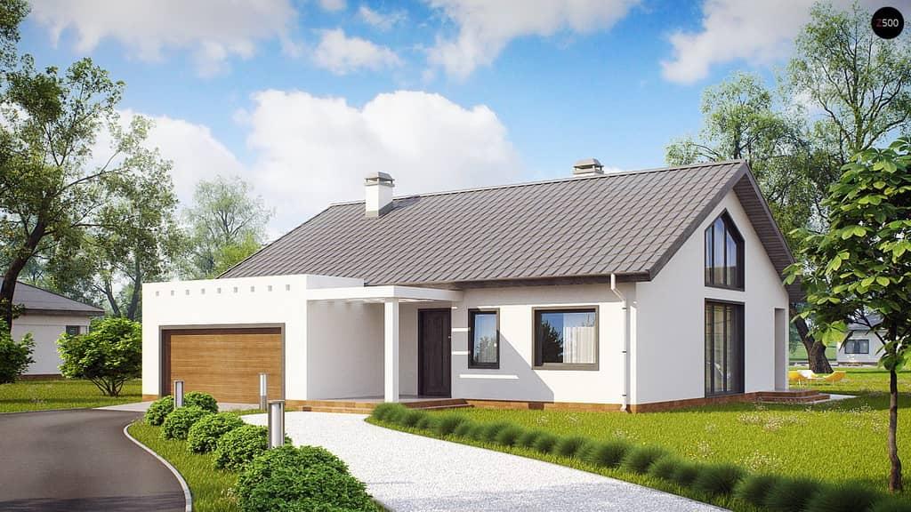 Проекты домов с гаражом под одной крышей, что нужно учесть при строительстве, и как правильно эксплуатировать