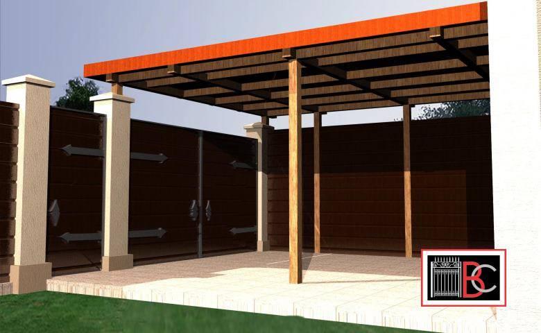 Строим правильно гараж с навесом