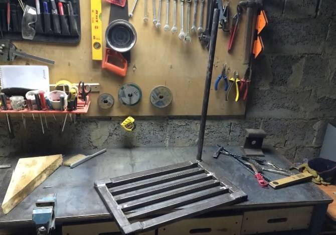 Как я делал стеллаж в гараж из профильной трубы своими руками