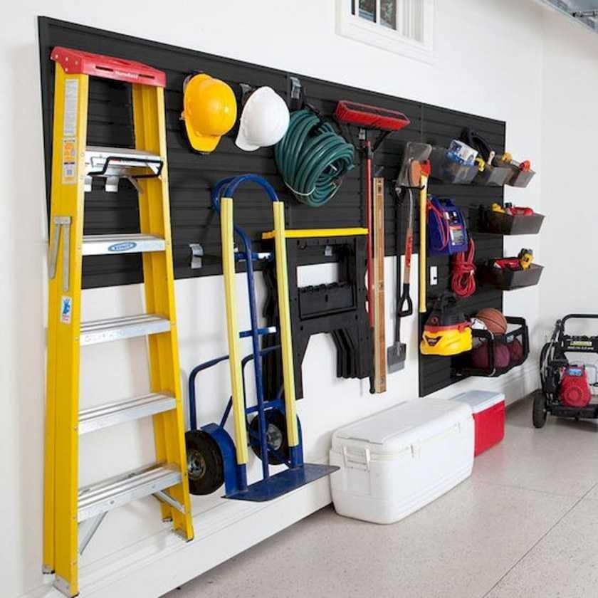 Самодельные приспособления для гаража и хранения инструмента в гараже (чертёж) - domwine