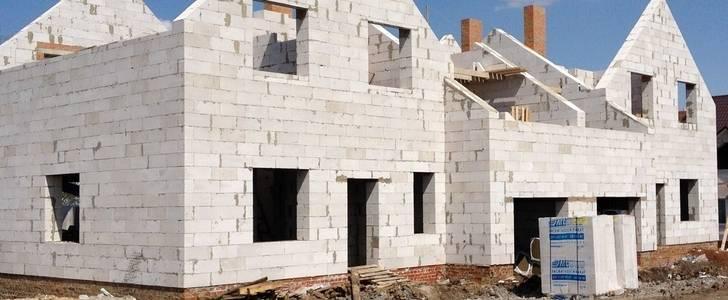 Гараж из пеноблоков: этапы строительства, алгоритм расчета блоков