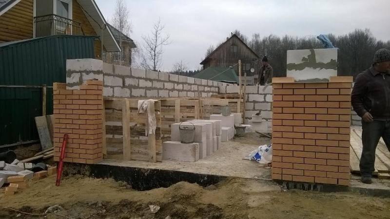 Строительство гаража 6х4, как и из чего строить, как рассчитать количество блоков