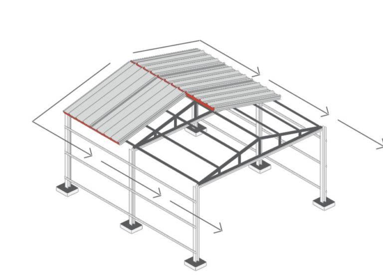 Самостоятельное строительство каркасного гаража