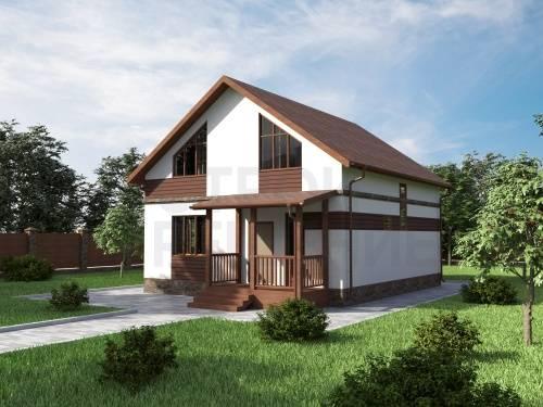 Проекты домов под одной крышей с гаражом, верандой и другими сооружениями