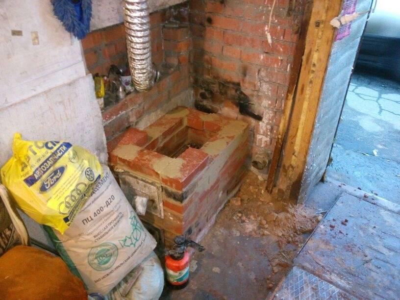 Как сделать печь для гаража своими руками: как сварить конструкцию, на дровах, длительного горения в том числе, инструкция с фото