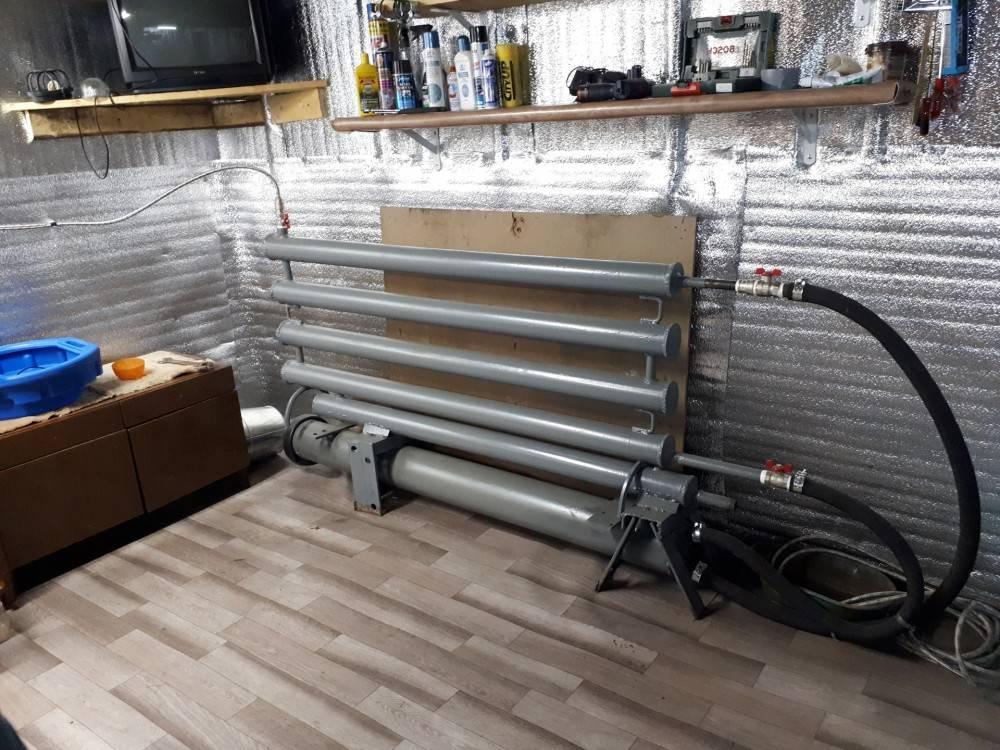Водяное отопление в гараже: особенности, требования и способы подключения своими руками