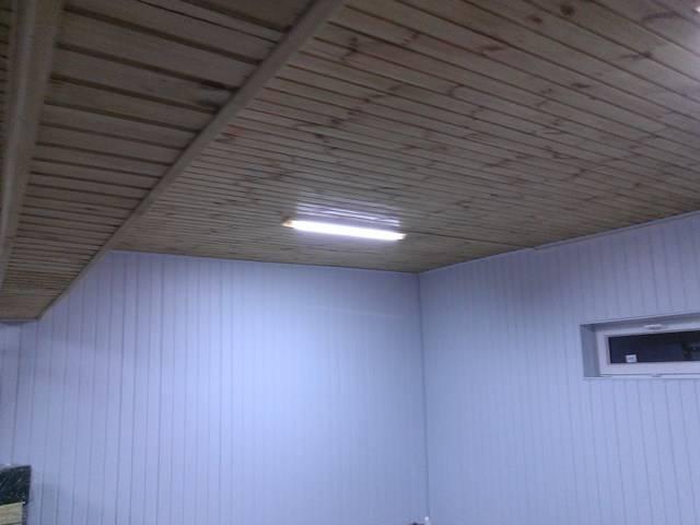 Чем лучше подшить потолок в гараже