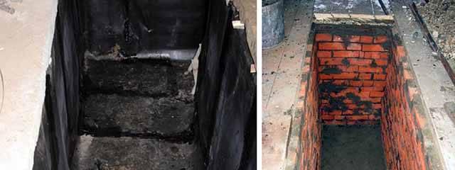 Обустройство смотровой ямы в гараже: способы проведения работ по гидроизоляции - пошагово